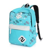 Quality backpack bags for girls for students canvas stylish day backpacks blue wholesale