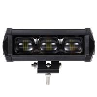 Quality 8D 8 Inch Waterproof SUV Led Light Bars With Bracket Led Driving Lamp 30W 2100LM wholesale