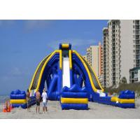 China Amazing Large Inflatable Slide / Giant Inflatable Pool Slide For Child on sale
