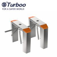 Quality 0.2S RS485 RFID Tripod Turnstile Gate For Office Building wholesale