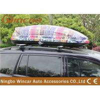 Quality Universal SUV / CRV Car Roof Boxes with ABS Plastic Colorful Printing wholesale