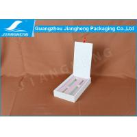 China Ballpoint Pen Eco Friendly Packaging Boxes White Offset CMYK Color Printing on sale