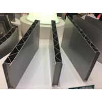 Cheap Polishing Rail Transit Aluminium Industrial Profile / aluminium edge profile for sale