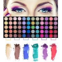 Quality Professional Eye Makeup Cosmetics 78 Color Eyeshadow Palette For Women wholesale
