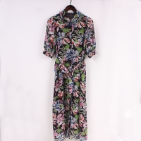 China Eco Friendly Size 40 75g Light Women Chiffon Dresses on sale