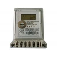 China Anti Tamper Digital Power Meter Two Phase Three Wires Electric Watt Hour Meter on sale