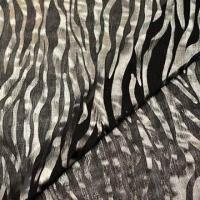 Quality Printed Fabric with Special Foil, Made of 100% Polyester, Suitable for Ladies