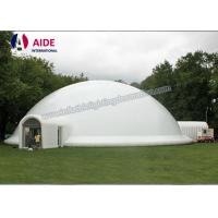 Quality 12m Big Inflatable Event Tent With LED Light Blow Up Tents For Camping wholesale