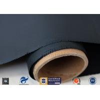 Quality Chemical Resistance 40/40g 1*50m 4H Satin Weave Silicone Coated Fiberglass Fabric wholesale