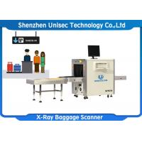 Quality High wire resolution and steel penetration economic single view X-ray baggage scanner wholesale