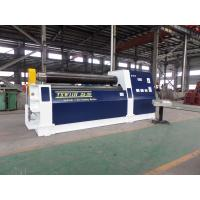 Quality Hydraulic 3 Roll Bending Machine , 25 - 30 mm Thickness Plate Rolling Machine wholesale