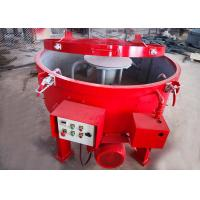 China High Automation Refractory Castable Mixer Machine 4 Scraper 250kgs Input Weight on sale