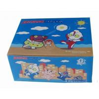 China custom square paper box template manufacturer with full color printing for toy on sale