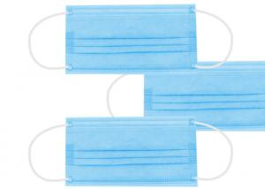 Quality In Stock Non Woven Meltblown Fabric Disposable 3 Ply Earloop Mask wholesale