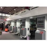 China Electrical Shaft Intaglio Printing Press , High Speed Gravure Printing Machine 380KW Power Consumption on sale