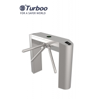 Quality 24V 50W Tripod Turnstile Gate Waist Height 304 Stainless Steel Access Control System wholesale