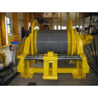 Quality Double Folded Wire Rope Drum Cable Reel With Rope Line Device ISO BV CE Standard wholesale