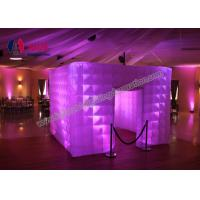 Quality Rentable Lighted Inflatable Photo Booth Enclosure Event Custom Made Inflatables wholesale