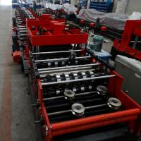 Quality 15KW Z & C Purlin Roll Forming Machine With Hydraulic / Manual Decoiler and Siemens PLC Automatic Control Whole Line wholesale
