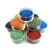 Quality Running Track Use Colored Rubber Granules With High WeatherStability wholesale