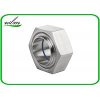 Quality ISO2853 Hygienic Stainless Steel Union Couplings Hexagon Nut Type 1 Inch-4 Inch Size wholesale