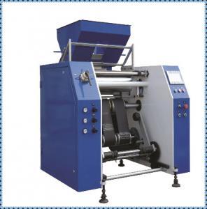 Quality 450mm Width Cling Film Making Machine / Plastic Film Slitting Machine wholesale