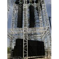 China Line Array Sound System And Light truss System Lighting Truss System Silver on sale
