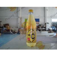 China Colorful Supermarket Inflatable Product Replicas Promotional Drink Holders on sale