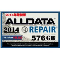 Quality 576G Alldata 10.53 Car Repair Information Software / Auto Diagnostics Software wholesale