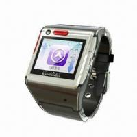 Quality Wristwatch Phone with MTK6253 Platform, Supports GPS Location and SOS Help wholesale
