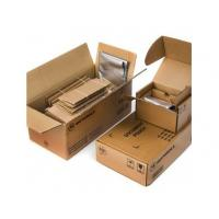 Quality Corrugated Packaging Boxes For Moving , Corrugated Kraft Box Brown Color wholesale
