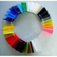 Buy cheap color acrylic sheet from wholesalers