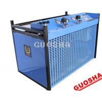 China GSW300 type diving for high pressure air compressor china 200bar 300bar Diving Air Compressor  Air Compressor Breathing on sale