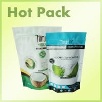 Buy cheap Zip Lock Plastic Stand Up Packaging Bags , Coconut Aluminum Foil Stand Up Pouch product