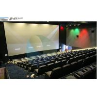 Quality 4D Movie Theater Equipments 7.1 audio system with curved / flat Screen wholesale