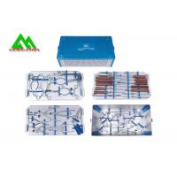 Quality Special Surgical Medical Instrument Kit For Lumbar Vertebrae Metal Material wholesale