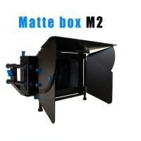 Quality High quality Camcorder Tripod Stabilizers Heavy pad video camera 2-Stage Matte Box wholesale