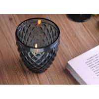 Quality ASTM ODM / OEM Blue color replacement candle holder glass Top dia 88mm wholesale