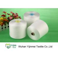 Quality Multi Color 100 Percent Spun Polyester Yarn , Semi Finished Sewing Thread wholesale