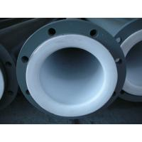 China Anti-Corrosion PTFE  Tube / PTFE Lined Pipe Power Plant on sale