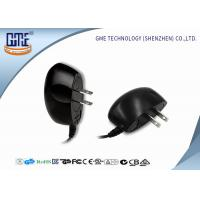 Quality Black 100-240v Ul Plug Wall Mount Power Adapter Ac Dc 3v 1a 4v 1.2a 5v 1a wholesale