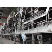 Quality High Grade Newspaper Making Machine Eco - Friendly From Waste Paper Recovery wholesale