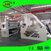 China scented folding embossing kleenex paper making machine factory,facial tissue paper folder machine on sale