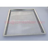 Quality SGS Fda Wire Mesh Tray Stainless Steel Rectangle Baking Pan Baking Grid wholesale