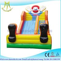 China Hansel Inflatable Slide of Tarpaulin Design Used Party Jumpers for Sale on sale