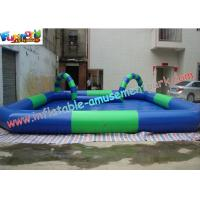 Quality OEM or ODM Outdoor Kids Inflatable Swimming Water Pools 10 x 8 meter, with Custom Printed wholesale