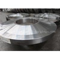 Quality ST52 ST60-2 Carbon Steel Forged Rings Flanges Heat Treatment wholesale