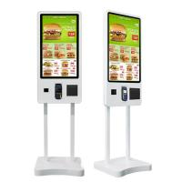 Quality Touch Screen Restaurant Digital Signage For Fast Food Ordering wholesale