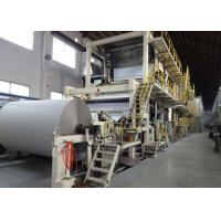 China 4200mm Test Liner Paper Making Machine Full Line Paper Mill Equipment on sale