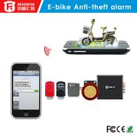 Quality Mini gsm/gprs gps tracker Electric bicycle anti-theft alarm system SMS and phone alarm wholesale